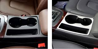 audi cup holder aliexpress com buy water cup holder panel cover trim for audi a4