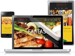 mexican restaurant web design