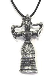 snake pendant necklace images Minoan snake goddess pendant necklace minoan jewelry jpg