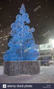 Christmas Light Balls For Trees Christmas Tree Structure Made Of Globe Like Balls Decorated With