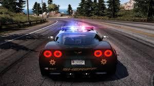 police corvette need for speed pursuit chevrolet corvette z06 police