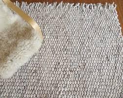wool rug wool rug etsy