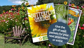 seed packets event promotional flower seed packets american
