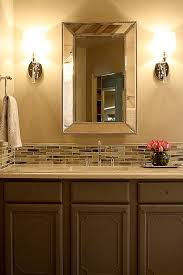 backsplash tile ideas for bathroom lovely backsplash tile in bathroom kezcreative
