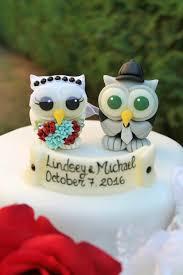 owl wedding cake topper owl wedding cake topper birds and groom cake