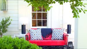 how to style a southern porch southern living youtube