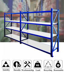 Industrial Shelving Units by Heavy Metal Bars Storage Rack Industrial Shelving Units Jb 5 Buy