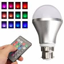 Remote Control Led Light Bulb by Dimmable Rgb Color Changing 4w B22 Led Light Bulb Bayonet With Ir