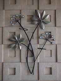 Metal Flower Wall Decor - wall art sculpture designs