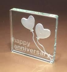 25th wedding anniversary gifts 25th silver wedding anniversary gifts spaceform glass token gift