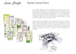 Duplex Home Plans Loom Crafts Prefab Home Plans Catalog 2 By Loom Crafts Furniture
