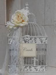 birdcages for wedding birdcage wedding cardholder birdcage card box white