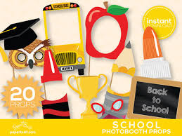 photo booth props for sale back to school photo booth props day photobooth props