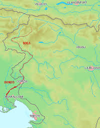 Underground River Map Soca Or Isonzo River Is One Of The Most Beautiful Rivers In Europe