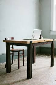 Industrial Work Table by Dovetail Work Table Modern Industrial Desk House U0026 Home