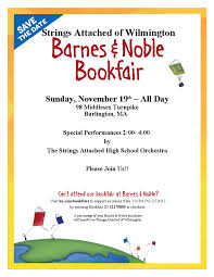 Barnes Noble Burlington Ma Strings Attached To Hold Bookfair At Barnes U0026 Noble On November 19