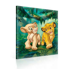 lion print the lion king simba nala canvas print ppd2207o6 consalnet