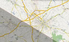 Columbia Sc Map Total Solar Eclipse 2017 City Maps