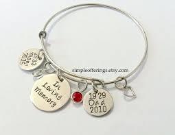 memorial bracelets for loved ones memorial bracelet in loving memory of husband