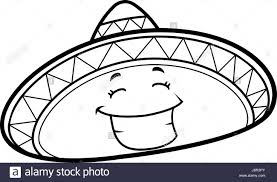 mexican hat stock vector images alamy
