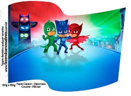 93 pj masks images pj mask mask party masks