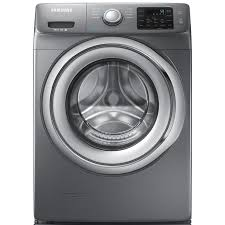 Samsung Pedestals For Washer And Dryer White Shop Samsung 4 2 Cu Ft High Efficiency Stackable Front Load Washer