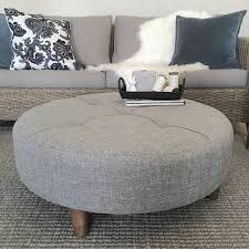 sofa black ottoman blue tufted ottoman round grey ottoman
