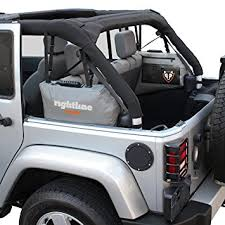 grey jeep wrangler 4 door amazon com rightline gear 100j75 side storage bags for jeep