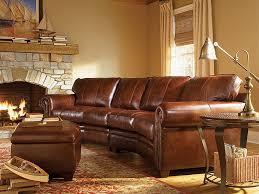 Leather Conversation Sofa Popular Of Rustic Leather Sofa Interiorvues