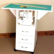 bathroom tasty sewing craft table desk drawers diy with room