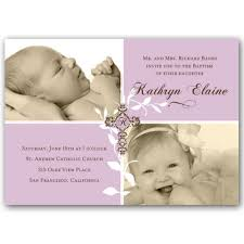 blessing invitation blessings girl photo baptism invitations paperstyle