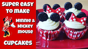 mickey mouse cupcakes how to make minnie mickey mouse cupcakes