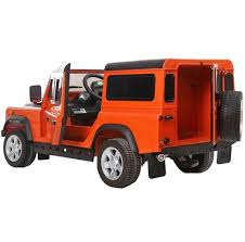 electric 4x4 landrover defender kids battery electric ride on jeep car with
