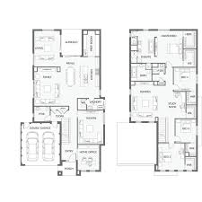 Two Storey House Design With Floor Plan Best 25 Double Storey House Plans Ideas On Pinterest Escape The