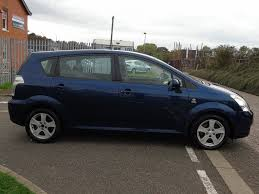 used toyota corolla verso for sale rac cars