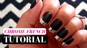 how to stop biting your nails 5 ways to murder the nail biting habit how to chrome nails french tip tutorial youtube