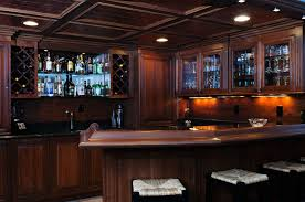 backyard hand crafted basement bar custom wood creations bars