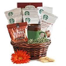 coffee and tea gift baskets starbucks coffee starbucks gift basket gourmet