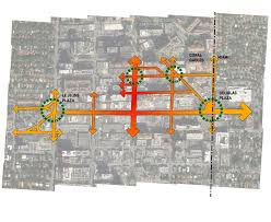 Coral Gables Florida Map by Cooper Robertson Unveils Design Of Coral Gables Miracle Mile