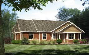 craftsman ranch house plan 98267