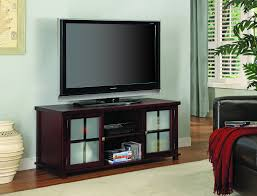glass cabinet doors for entertainment center 47 cherry wood entertainment center tv console stand with frosted