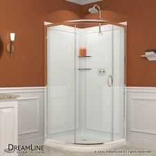 Shower Tray And Door by Shower Enclosure Base U0026 Backwall Kits