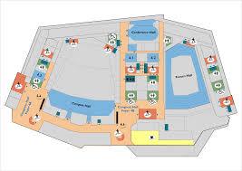 Municipal Hall Floor Plan by Prague Congress Centre Congress Exhibition Seminary