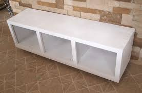 bench with 4 cubbies entry mudroom tutorial little red brick house
