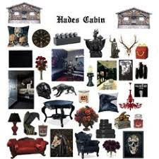 13 hades cabin by demigod central on polyvore featuring interior