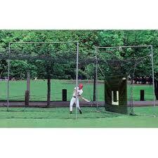 jugs cage 7 batting cage net 65 u0027 x 11 u0027 x 11 u0027 u0027s sporting