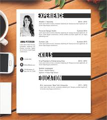 Catchy Resume Templates Blank Resume Template U2013 15 Free Psd Vector Eps Ai Format