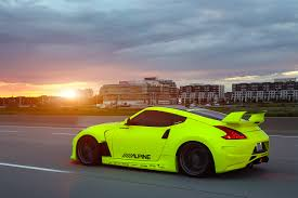 nissan 370z nismo wrapped nissan 370z tuning 9 tuning