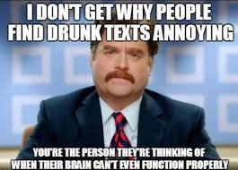 Drunk Texting Meme - drunk texting via facebook on we heart it
