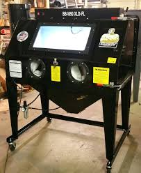 sandblaster cabinet for sale sandblaster cabinet large sandblast plans soda blasting harbor